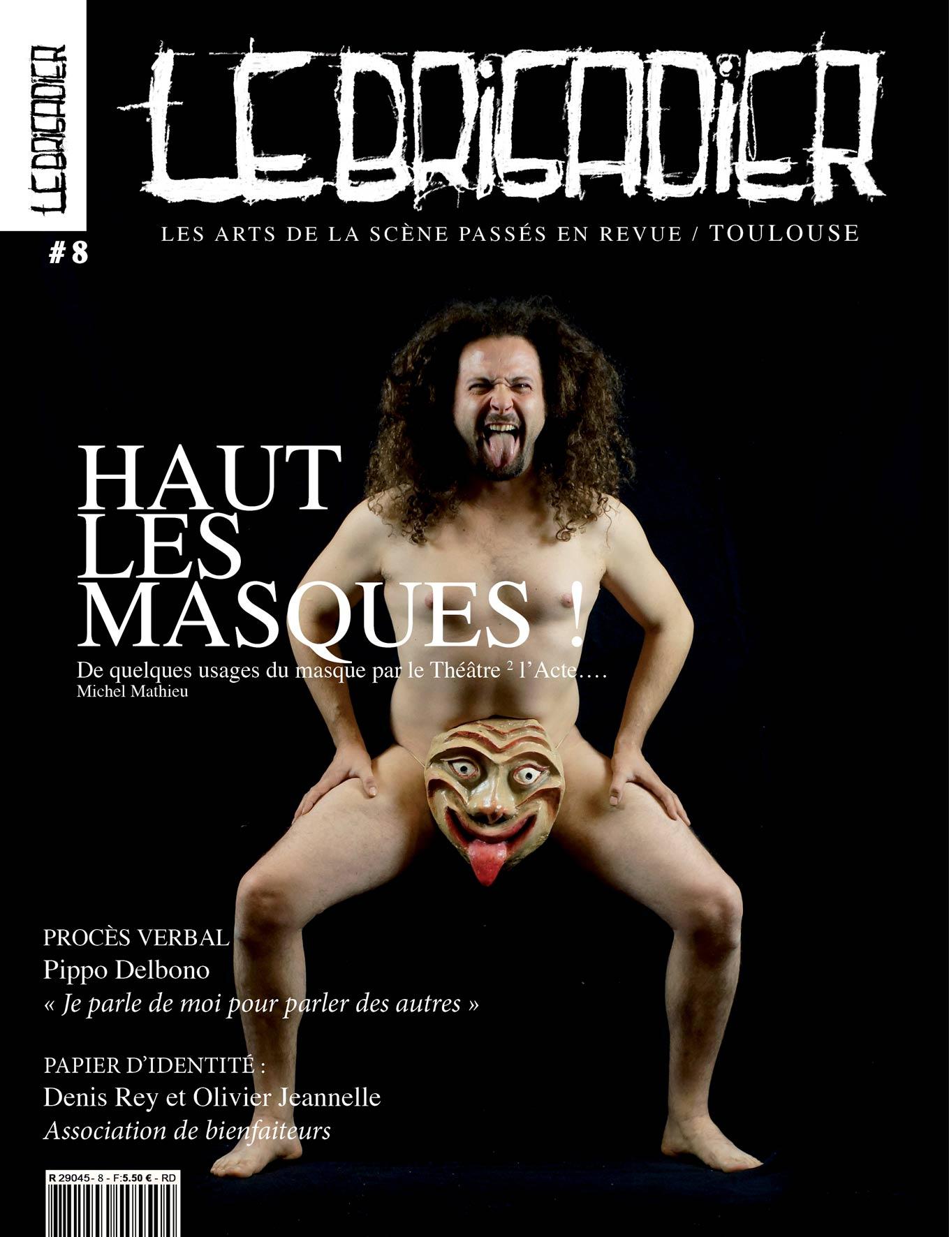 Les-masques-LB8-COUV le brigadier toulouse
