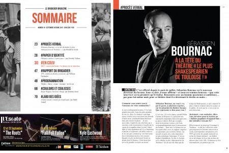 création magazine le Brigadier #16 LB16_COUVle brigadier toulouse